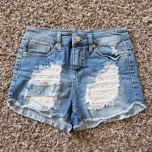 Mossimo High Waisted denim shorts